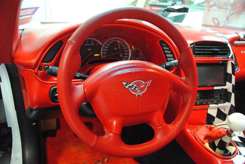 C Wheel on Restored 95 Acura Integra